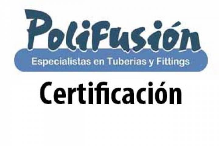 Certificado de conformidad Nº 95