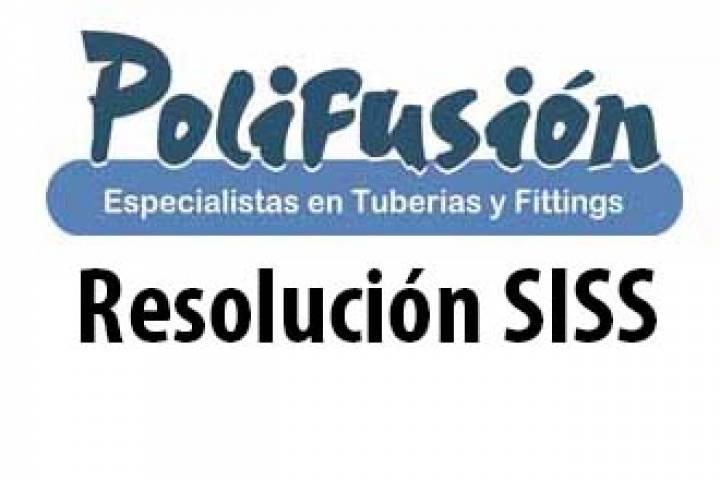 Resolución Tuberías Beta Fibra